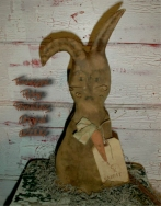 Primitive Flop Ear Jack The Rabbit Easter Doll E-pattern