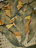 Primitive Dirty Grungy Witch Crow Ornies Pattern