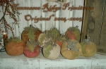 Primitive grungy Fall Pumpkin Patch Pattern
